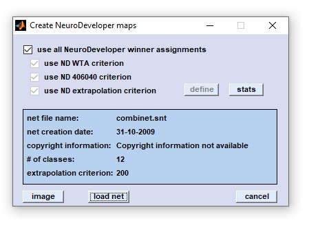 Imaging by using Synthon's NeuroDeveloper(TM) networks
